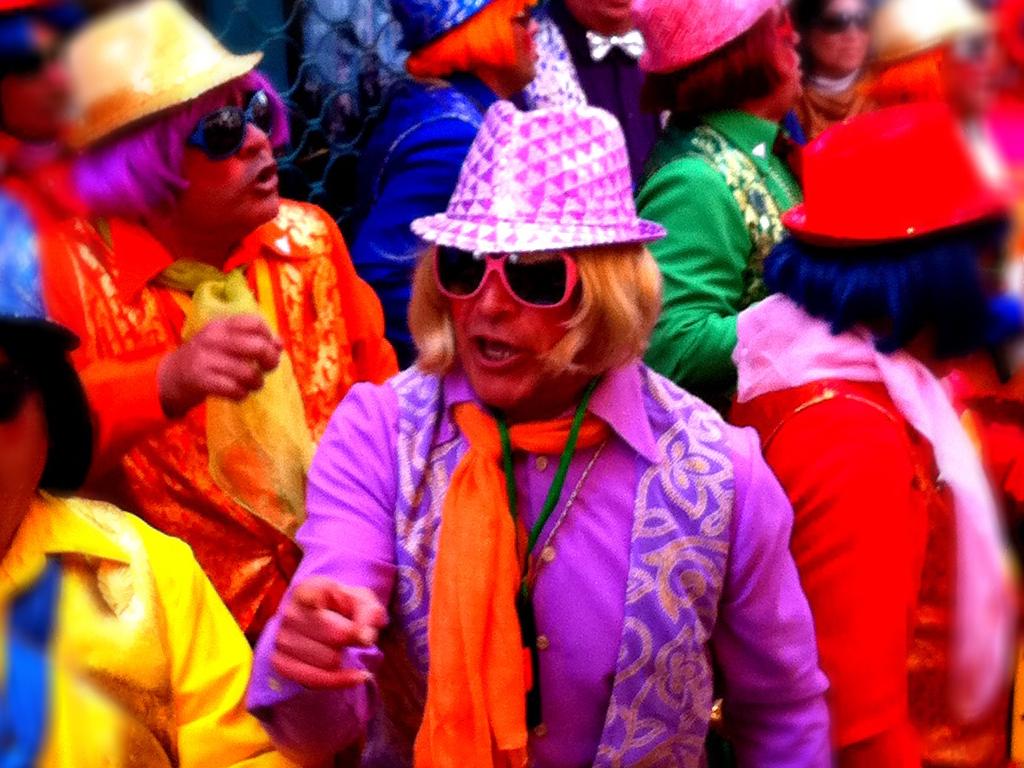 Chirigotas during Cádiz Carnival