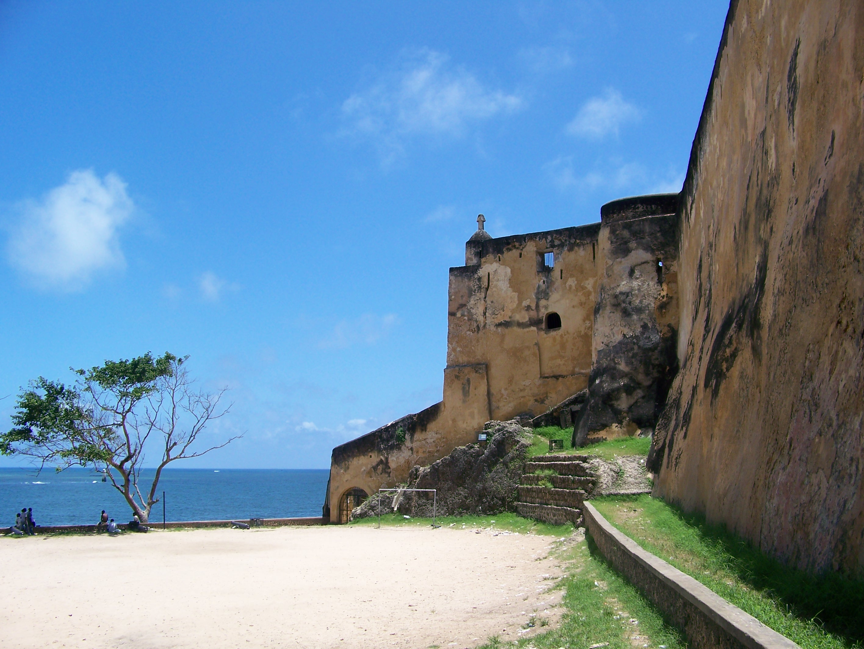 View of Fort Jesus in Mombasa