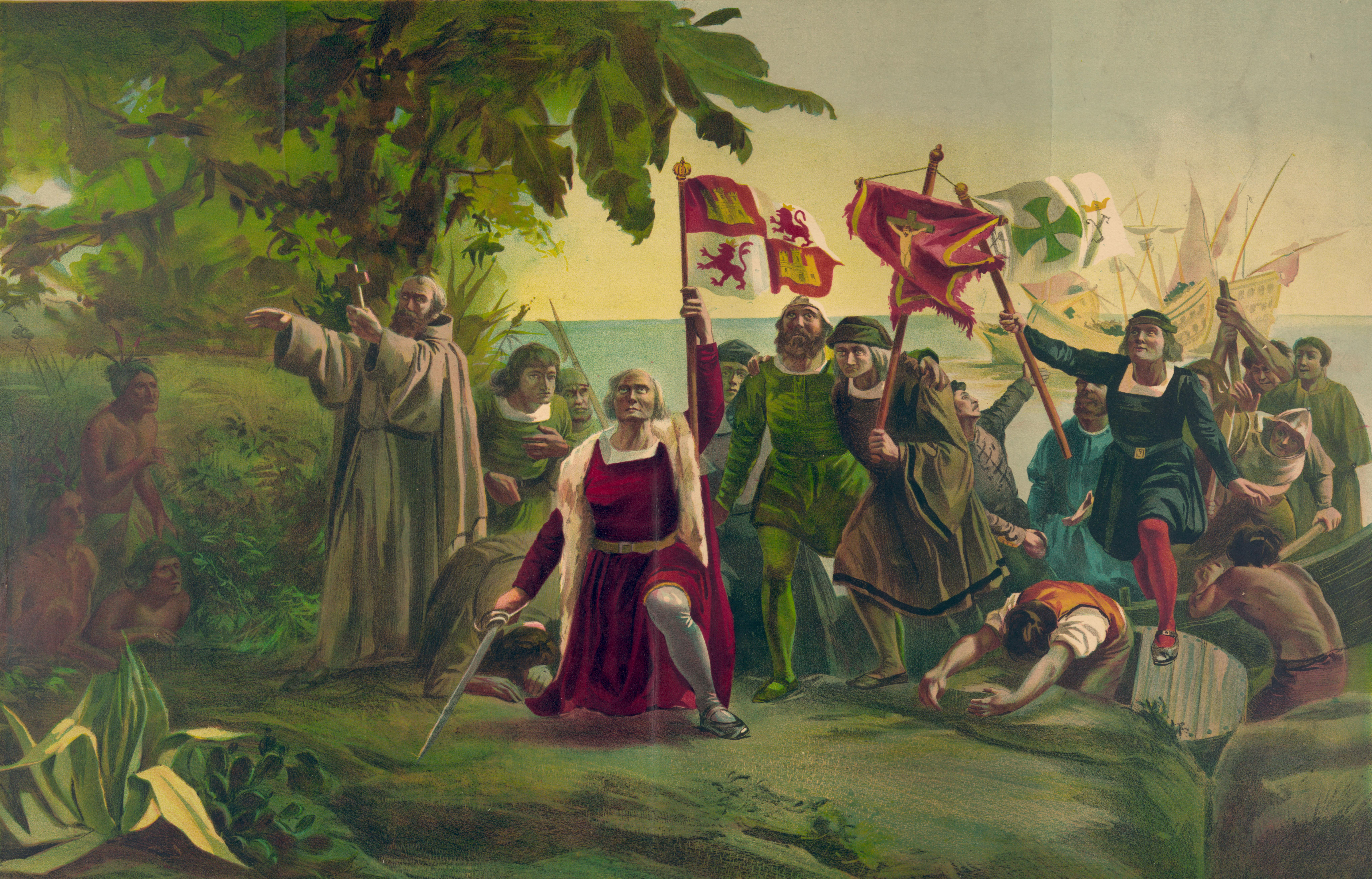 Discovery of the New World by Christopher Columbus