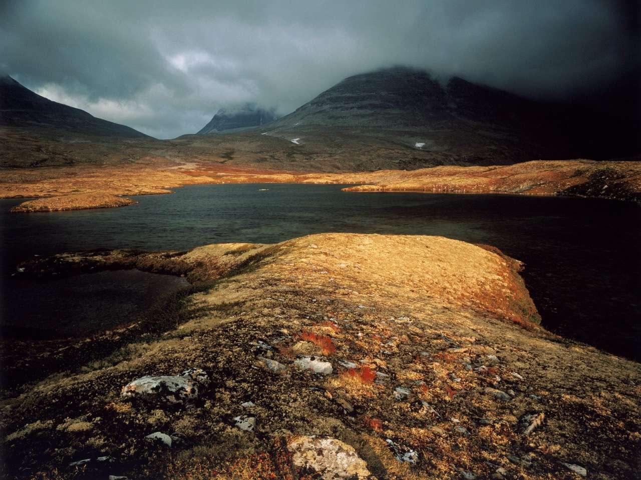 Landscape in Rondane National Park
