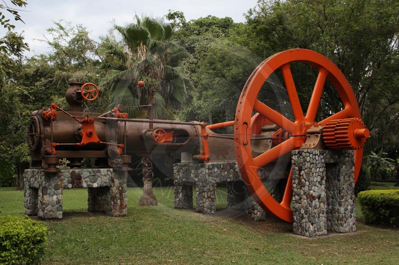 Modern sugar mill at Hacienda Piedechinche