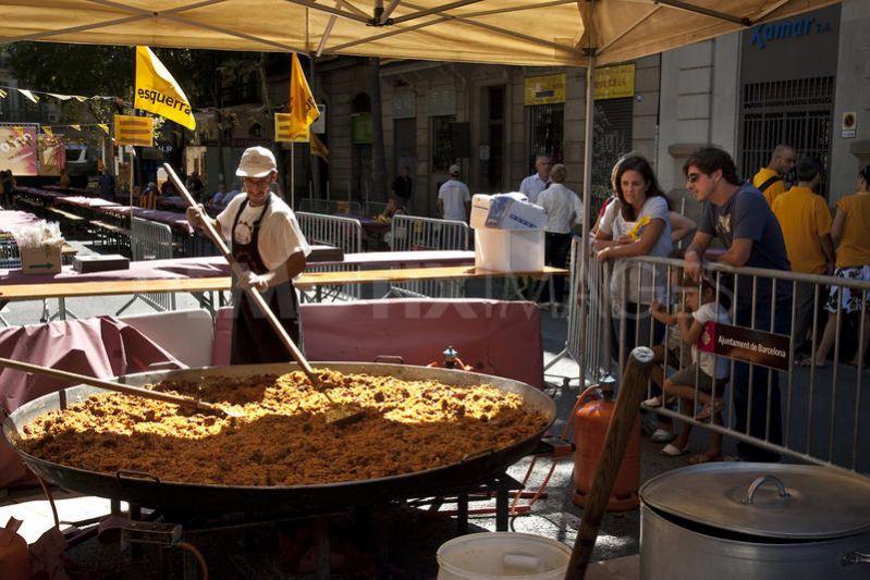 Paella Cooking Spain