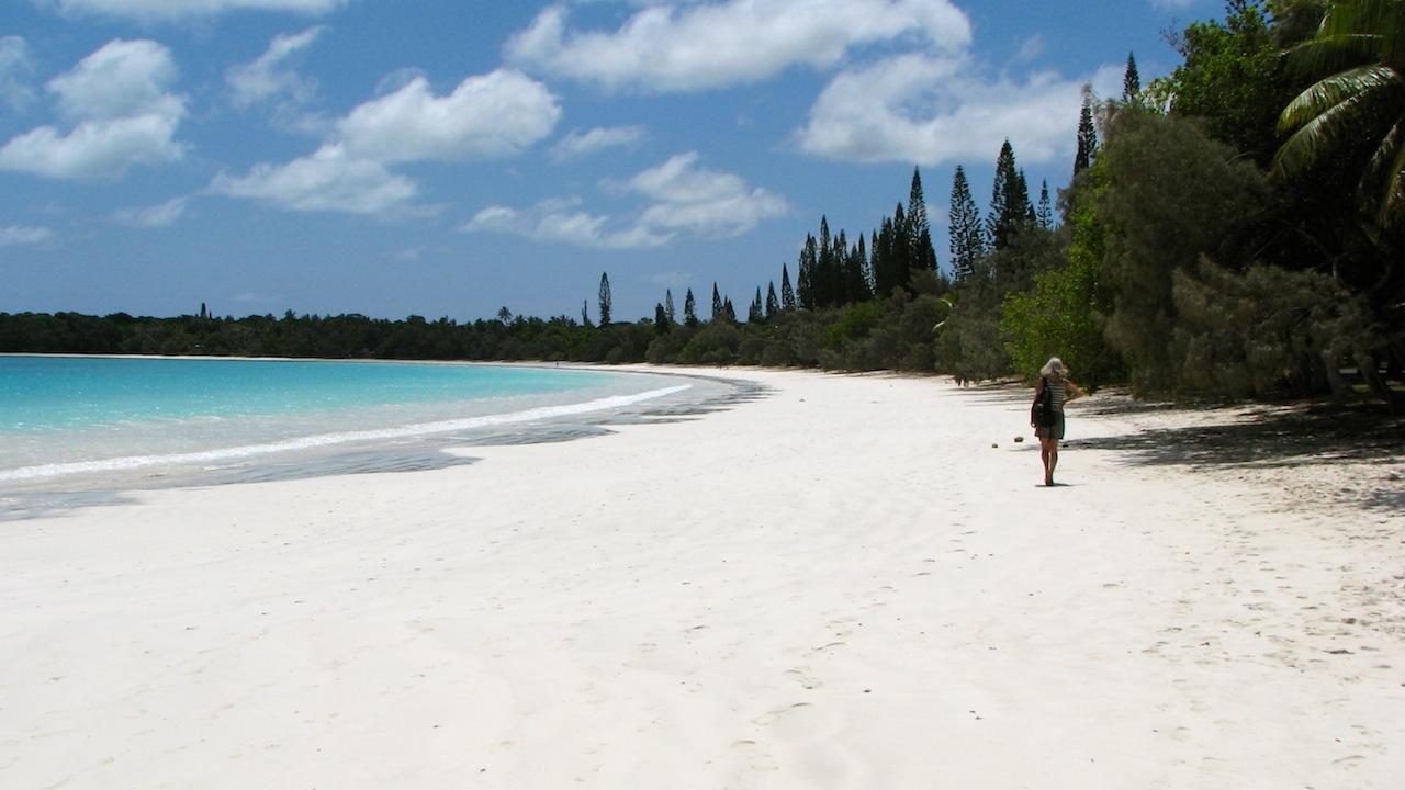 Beach in New Caledonia