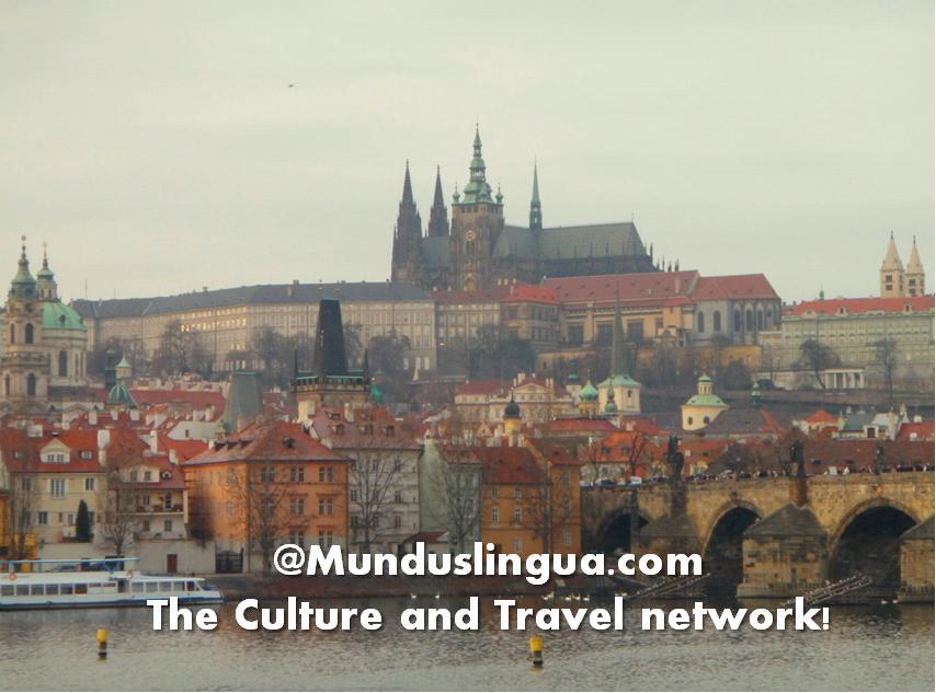 The Vltava River and Prague Castle